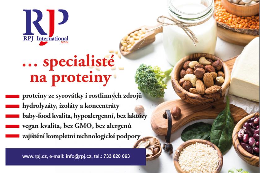 Jsme specialisté na proteiny